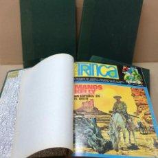 Cómics: TRINCA -LOTE DE 56 NºS.+ 2 EXTRAS EN 6 TOMOS- PERFECTOS. LEER. Lote 183736127