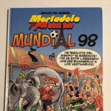 Cómics: LOTE 5 TOMOS MORTADELO Y FILEMÓN. MAGOS DEL HUMOR. Lote 183839451