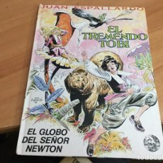 Cómics: EL TREMENDO TOBI Nº 1 (JUAN ESPALLARDO) CON DEDICATORIA Y DIBUJO DEL AUTOR (COIB40). Lote 183864561