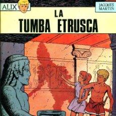 Cómics: ALIX-5: LA TUMBA ETRUSCA (OIKOS-TAU, 1969) DE JACQUES MARTIN. 1ª EDICIÓN EN ESPAÑA.. Lote 183864651