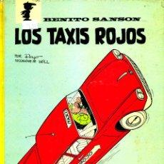 Cómics: BENITO SANSÓN: LOS TAXIS ROJOS (ARGOS, 1971) DE PEYO Y WILL. Lote 183865105