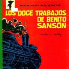 Cómics: BENITO SANSÓN: LOS DOCE TRABAJOS DE BENITO SANSÓN (ARGOS, 1971) DE PEYO Y WALTHERY. Lote 183865205