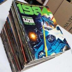 Cómics: 1984 - 64 NÚMEROS ¡¡COMPLETA!! - TOUTAIN (NO INCLUYE ALMANAQUES) - BUEN ESTADO. Lote 183900835