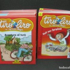 Cómics: TIRO LIRO. M'AGRADA LLEGIR. LOTE DE 28 EJEMPLARES. VER DESCRIPCION. ILUSTRADORES, AUTORES.... 2004.. Lote 183928360