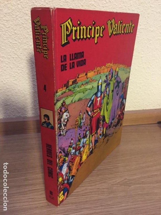 PRINCIPE VALIENTE TOMO 4 - BURU LAN 1973 - HAL FOSTER - ¡BUEN ESTADO! (Tebeos y Comics - Buru-Lan - Principe Valiente)
