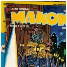 Cómics: MAKOKI - PRIMERA 1983 - LOTE DE 8 NºS. 1,3,4,5,6,11,14 Y 16 - J.M.BERENGUER / LA CÚPULA. BUENOS.. Lote 184050663