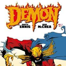 Cómics: DEMON DE GARTH ENNIS TOMOS 1 Y 2 COMPLETA - ECC / DC TAPA DURA. Lote 184092597