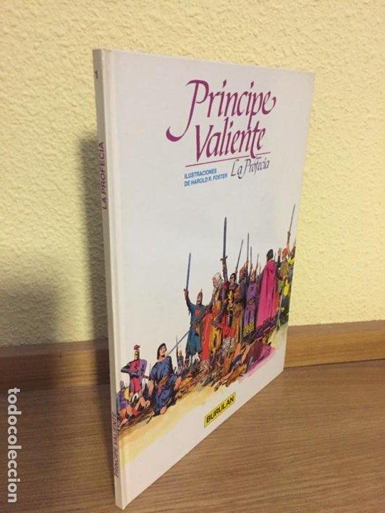 PRINCIPE VALIENTE 1 - LA PROFECÍA - BURU LAN 1983 - HAL FOSTER - ¡NUEVO! (Tebeos y Comics - Buru-Lan - Principe Valiente)