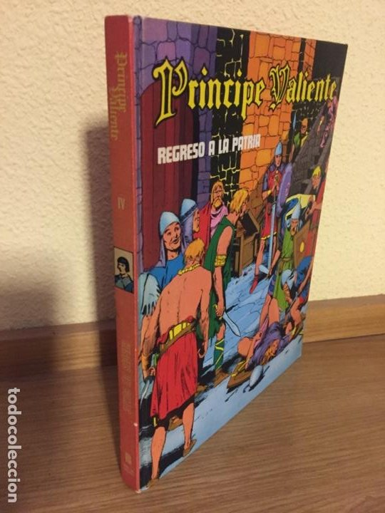 PRINCIPE VALIENTE TOMO IV - REGRESO A LA PATRIA - BURU LAN 1972 - HAL FOSTER - ¡MUY BUEN ESTADO! (Tebeos y Comics - Buru-Lan - Principe Valiente)
