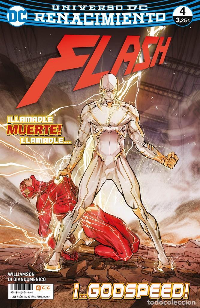 FLASH 4 AL 37 - ECC / DC GRAPA / COLECCIÓN ACTUAL (Tebeos y Comics - Comics otras Editoriales Actuales)