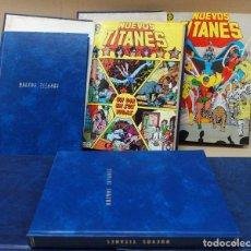 Cómics: NUEVOS TITANES -LOTE DE 43 NºS.- 1 AL 43 EN 6 TOMOS- ZINCO. LEER. Lote 184143688