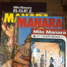 Cómics: MILO MANARA-LOTE 4 COMICS.. Lote 184178987