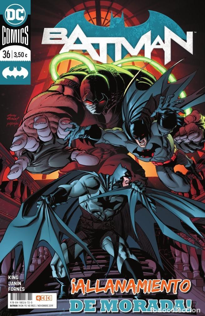 BATMAN 36 - ECC / DC GRAPA (Tebeos y Comics - Comics otras Editoriales Actuales)