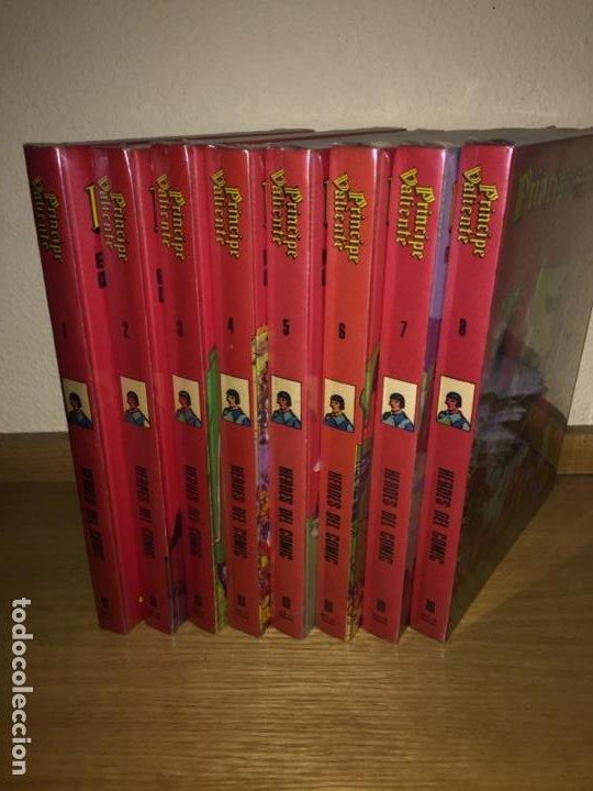 PRINCIPE VALIENTE COMPLETA 8 TOMOS - BURU LAN 1972 - HAL FOSTER - ¡COMO NUEVA! (Tebeos y Comics - Buru-Lan - Principe Valiente)