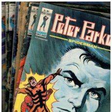 Comics : PETER PARKER -SPIDERMAN- V.1 LOTE DE 11 NºS.-1,6,7,8,10,11,12,13,14,15 Y 16..VÉRTICE,1980.LEER. Lote 184381330