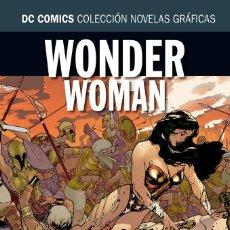Cómics: WONDER WOMAN : PARAISO PERDIDO - ECC / DC COLECCION NOVELAS GRAFICAS 21 / TAPA DURA. Lote 184393408