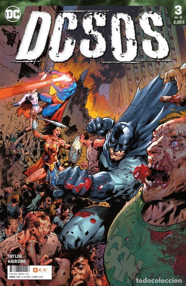 DCSOS 3 - ECC / DC GRAPA (Tebeos y Comics - Comics otras Editoriales Actuales)