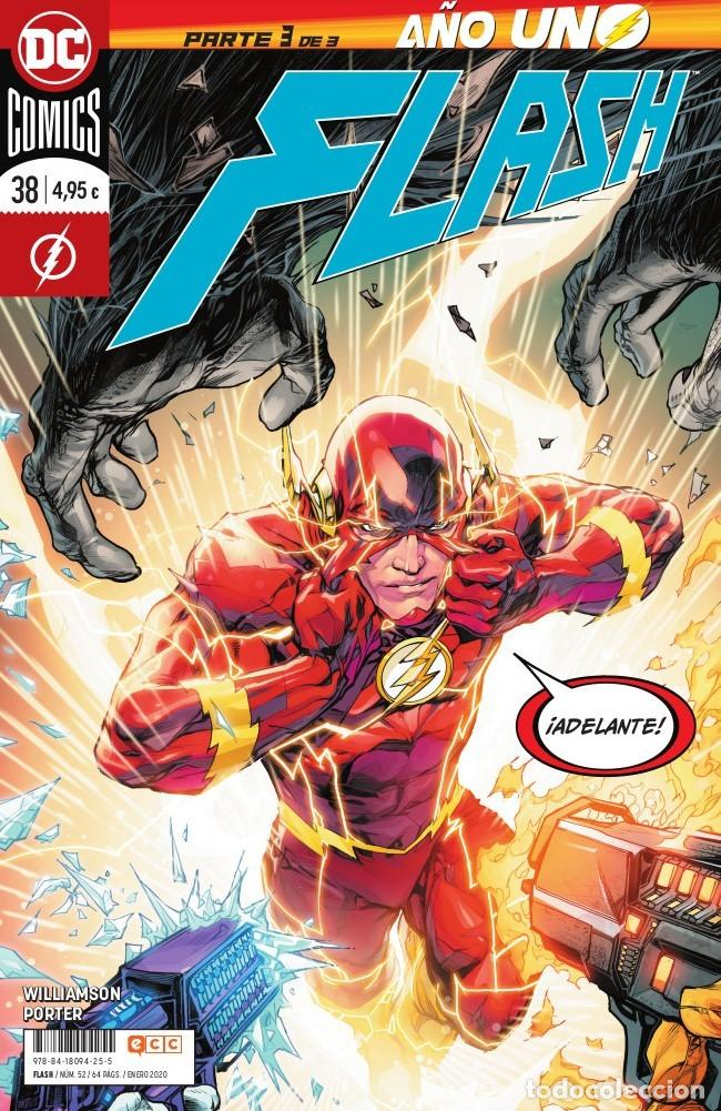 FLASH 38 - ECC / DC GRAPA (Tebeos y Comics - Comics otras Editoriales Actuales)