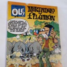 Cómics: OLÉ, MORTADELO Y FILEMÓN, EDICIONES B , M.281 , DE LOS ÚLTIMOS Y DIFÍCILES. Lote 184550348