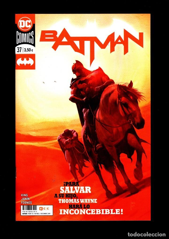 BATMAN 37 - ECC / DC GRAPA (Tebeos y Comics - Comics otras Editoriales Actuales)
