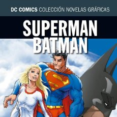 Cómics: SUPERMAN & BATMAN : SUPERGIRL - ECC / DC NOVELAS GRAFICAS 24 / TAPA DURA. Lote 184566917