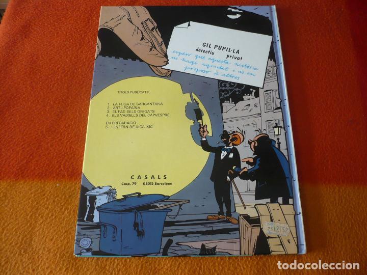 Cómics: GIL PUPILA 3 EL PAS DELS OFEGATS ( MILLIEUX ) ( EN CATALAN ) ¡MUY BUEN ESTADO! TAPA DURA CASALS - Foto 2 - 184696252