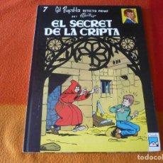 Cómics: GIL PUPILA 7 EL SECRET DE LA CRIPTA ( MILLIEUX ) ( EN CATALAN ) ¡BUEN ESTADO! TAPA DURA CASALS. Lote 184696982