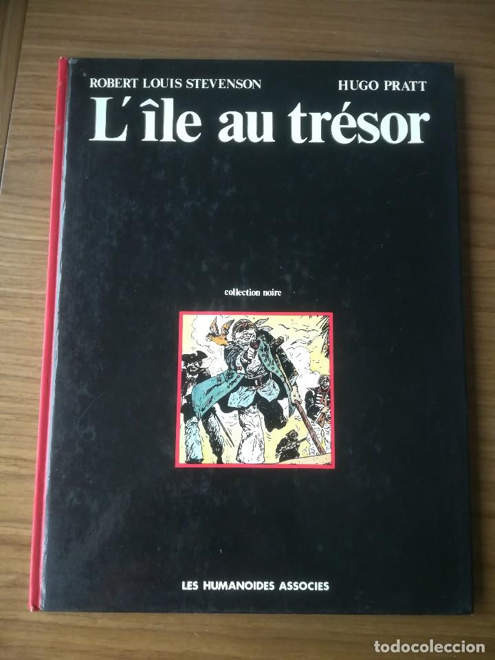 CÓMIC L'ÎLE AU TRÉSOR LA ISLA DEL TESORO ROBERT LOUIS STEVENSON HUGO PRATT 1980 EN FRANCÉS (Tebeos y Comics Pendientes de Clasificar)