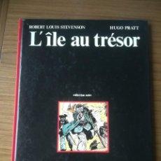Cómics: CÓMIC L'ÎLE AU TRÉSOR LA ISLA DEL TESORO ROBERT LOUIS STEVENSON HUGO PRATT 1980 EN FRANCÉS. Lote 184733377
