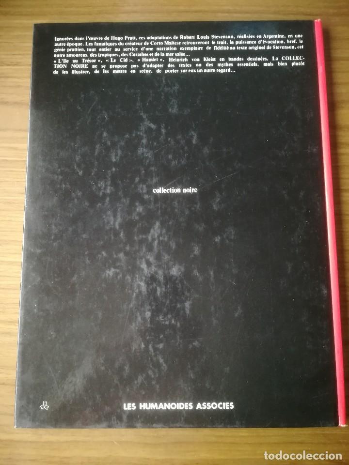 Cómics: Cómic Lîle au trésor La isla del tesoro Robert Louis Stevenson Hugo Pratt 1980 En francés - Foto 6 - 184733377