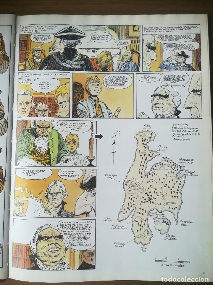 Cómics: Cómic Lîle au trésor La isla del tesoro Robert Louis Stevenson Hugo Pratt 1980 En francés - Foto 3 - 184733377