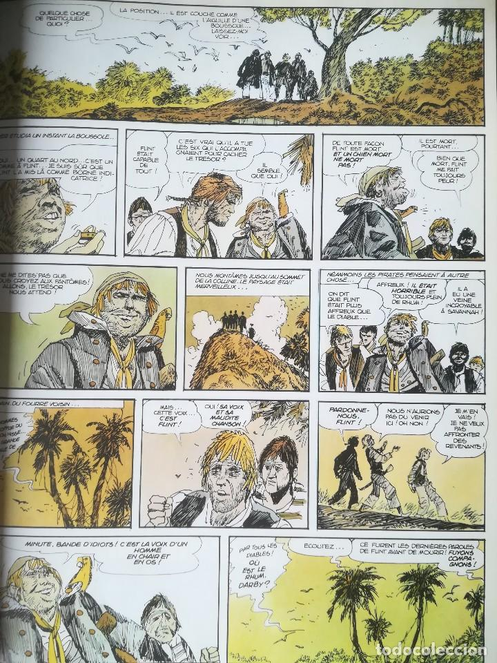 Cómics: Cómic Lîle au trésor La isla del tesoro Robert Louis Stevenson Hugo Pratt 1980 En francés - Foto 4 - 184733377