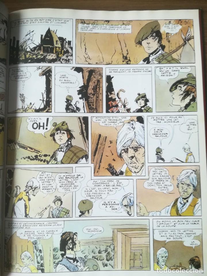 Cómics: Cómic Lîle au trésor La isla del tesoro Robert Louis Stevenson Hugo Pratt 1980 En francés - Foto 5 - 184733377