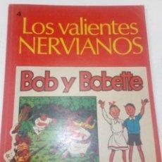 Cómics: W. VANDERSTEEN - BOB Y BOBETTE Nº 4 - LOS VALIENTES NERVIANOS - EDISVEN 1969, 1ª ED., BIEN, VER DES.. Lote 184733608