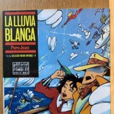 Cómics: LA LLUVIA BLANCA - PERE JOAN - COLECCIÓN MISIÓN IMPOSIBLE (8) -COMPLOT - 1987. Lote 185772040