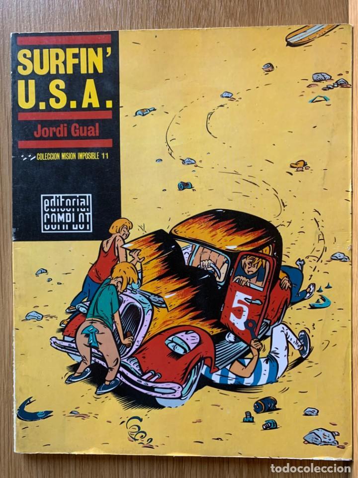 SURFIN' U.S.A. - JORDI GUAL - COLECCIÓN MISIÓN IMPOSIBLE (11) -COMPLOT (Tebeos y Comics - Comics otras Editoriales Actuales)