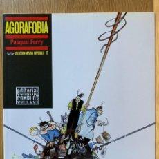 Cómics: AGORAFOBIA - PASQUAL FERRY - COLECCIÓN MISIÓN IMPOSIBLE (19) -COMPLOT - 1990. Lote 185772355