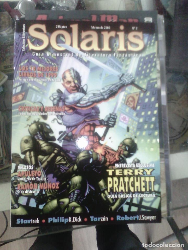SOLARIS, Nº 2, 2000. REVISTA. GUÍA BIMESTRAL DE LITERATURA FANTÁSTICA. ENTREVISTA TERRY PRATCHETT (Tebeos y Comics - Comics otras Editoriales Actuales)