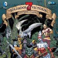 Cómics: 7 SOLDADOS DE LA VICTORIA DE GRANT MORRISON 4 - ECC / DC / NUEVO DE EDITORIAL. Lote 185923620