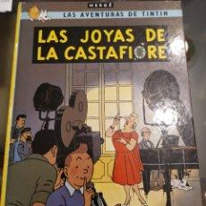 Cómics: LAS AVENTURAS DE TINTIN LAS JOYAS DE LA CASTAFIORE 1983. Lote 186112923