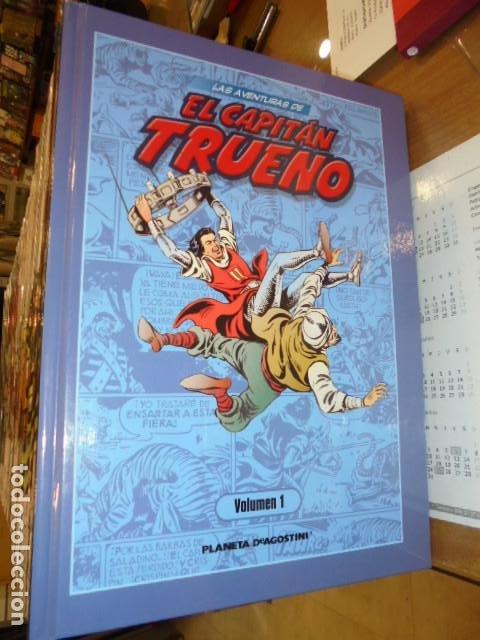 LAS AVENTURAS DE EL CAPITAN TRUENO LOTE DE 49 TOMOS - PLANETA OFERTA (Tebeos y Comics - Comics Colecciones y Lotes Avanzados)