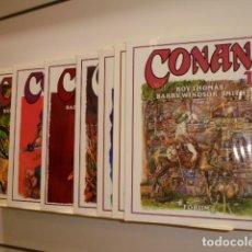 Cómics: CONAN DE BARRY WINDSOR-SMITH COMPLETA 8 TOMOS - FORUM. Lote 186129181