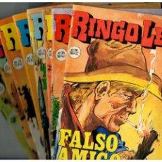 Fumetti: RINGO LEY - LOTE DE 8 NºS.13,16,18,19,31,34,35 Y 36 (ÚLTIMO) -ED. ALONSO 1978.. Lote 186269405
