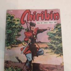 Cómics: 1963 CHIRIBIN AÑO III NUM 40. Lote 186297178