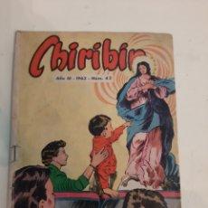 Cómics: 1963 CHIRIBIN AÑO III NÚMERO 42. Lote 186297490