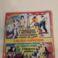Cómics: BOMBA N 1 9 HISTORIETAS 3 RELATOS VILLAGE PEOPLE FOTO FANTÁSTICOS POSTER. Lote 186298281