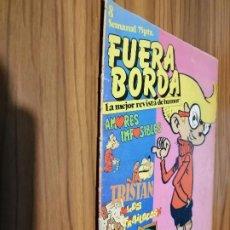 Cómics: FUERA BORDA 8. REVISTA JUVENIL. GRAPA. BUEN ESTADO. DESCATALOGADA. SARPE. Lote 186348726