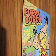Cómics: FUERA BORDA 6. REVISTA JUVENIL. GRAPA. BUEN ESTADO. DESCATALOGADA. SARPE. Lote 186348806