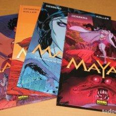 Cómics: MAYAM 1 2 3 4 - COMPLETA - CARTONÉ GRAN FORMATO – NORMA ED. AÑO 2005 - NUEVO. Lote 38519521