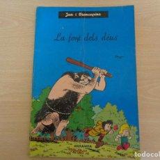 Cómics: JAN I TRENCAPINS. LA FONTS DELS DÉUS ANXANETA. Lote 187214947